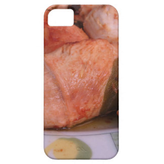 La carne de vaca rouladen con el jamón y el queso iPhone 5 carcasa