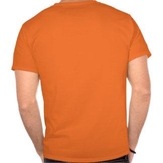 La carne en lata gobierna (el gráfico trasero) tshirt