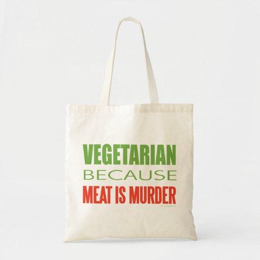La carne es asesinato - Anti-Carne Bolsas