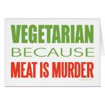 La carne es asesinato - Anti-Carne Felicitacion