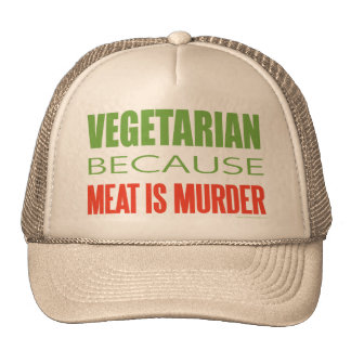 La carne es asesinato - Anti-Carne Gorra