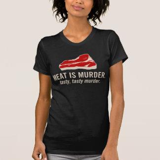 La carne es asesinato, asesinato sabroso camisas