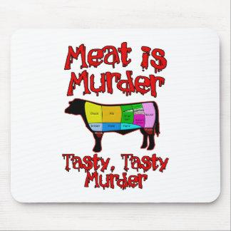 La carne es asesinato. Asesinato sabroso, sabroso Tapete De Ratones