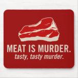 La carne es asesinato, asesinato sabroso tapete de ratones