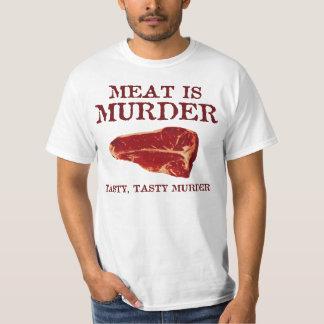 La carne es asesinato sabroso poleras