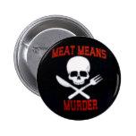 La carne es perno del asesinato pin