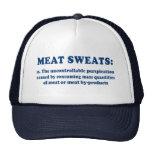 La carne suda el gorra azul Redux