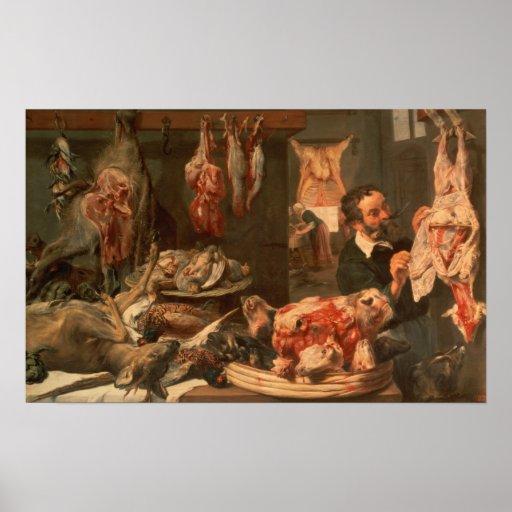 La carnicería póster