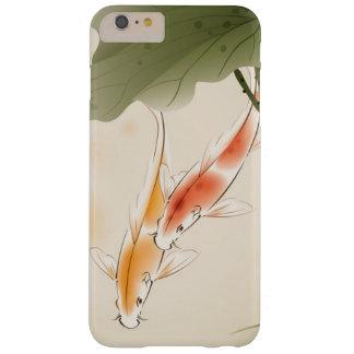 La carpa japonesa pesca la natación en la charca funda para iPhone 6 plus barely there