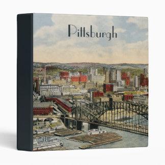 La carpeta 1931 del punto de Pittsburgh