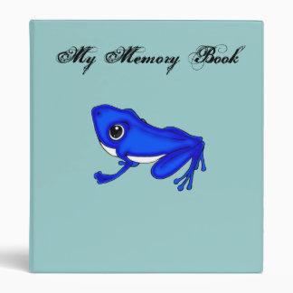 La carpeta azul de la memoria del Froggy