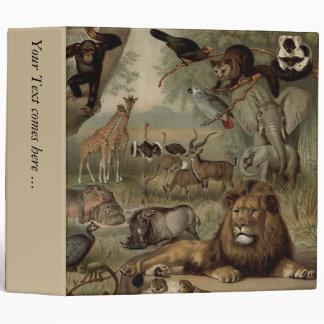 La carpeta de la firma 2 de Avery de la selva del