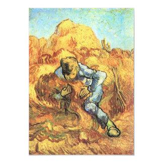"""La carpeta de la gavilla de Vincent van Gogh Invitación 5"""" X 7"""""""