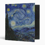 La carpeta de la noche estrellada