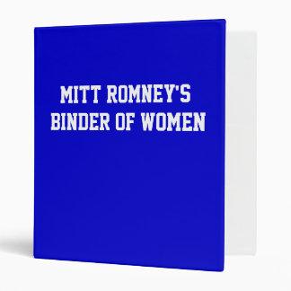 La carpeta de Mitt Romney de mujeres