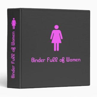 La carpeta de Mitt Romney por completo de mujeres