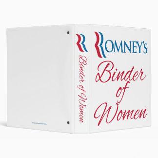 La carpeta de Romney de la mujer