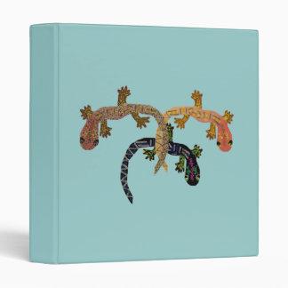 La carpeta de tres Geckos