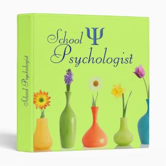 La carpeta del psicólogo de la escuela