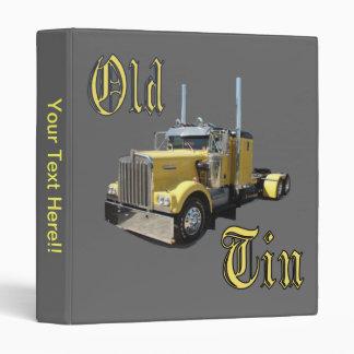 La carpeta del viejo camionero de la lata