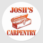 La carpintería de Josh Pegatinas