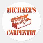 La carpintería de Michael Pegatina