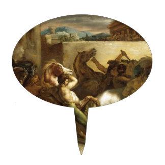 La carrera de caballos salvaje en Roma de Theodore Decoraciones De Tartas