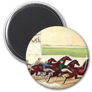 La carrera de caballos SUPERIOR es mi vida Imán Redondo 5 Cm