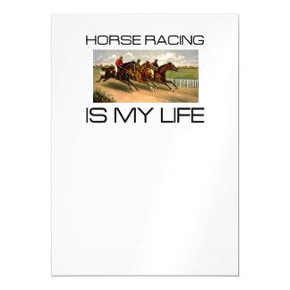 La carrera de caballos SUPERIOR es mi vida Invitaciones Magnéticas