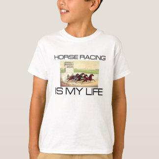 La carrera de caballos SUPERIOR es mi vida Playera