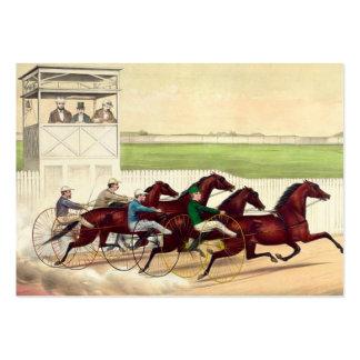 La carrera de caballos SUPERIOR es mi vida Tarjetas De Visita Grandes