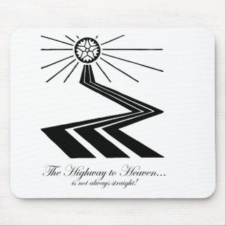 ¡La carretera al cielo no es siempre recta! Alfombrilla De Raton