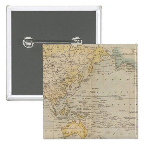La carta de Mercator Pin