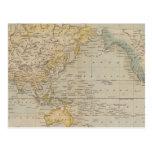 La carta de Mercator Postales