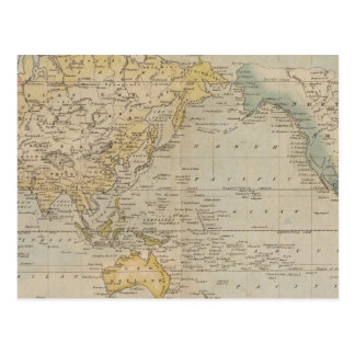 La carta de Mercator Tarjeta Postal