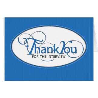 La carta de recomendación le agradece en escritura tarjeta de felicitación