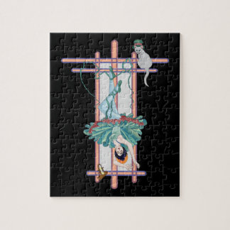 La carta de tarot colgada de la mujer puzzles con fotos