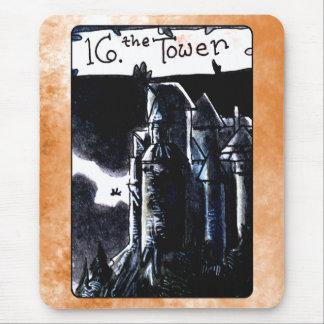 La carta de tarot de la torre tapetes de ratones
