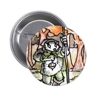 La carta de tarot del ermitaño pins