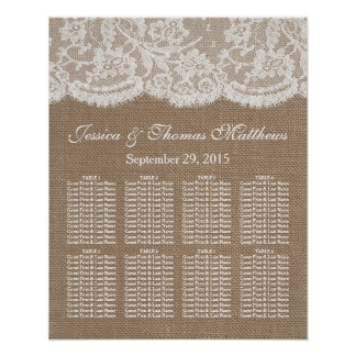 La carta del asiento de la colección de la póster