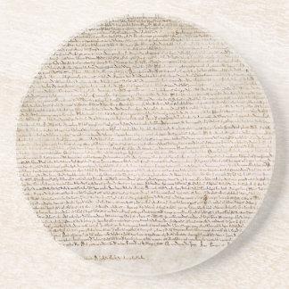 La Carta Magna de la carta 1215 de libertades Posavaso Para Bebida
