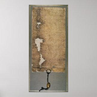 La Carta Magna de libertades, tercera versión Póster