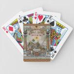 La carta masónica baraja de cartas