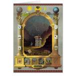 La carta masónica tarjeta de felicitación