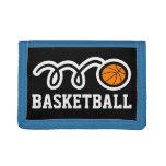 La cartera el | del baloncesto de los muchachos se