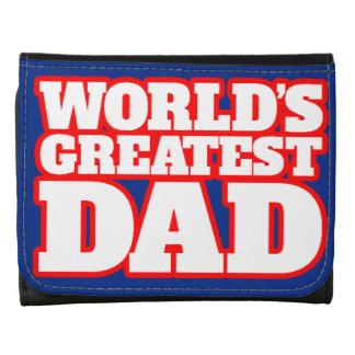 La cartera más grande del papá de los mundos