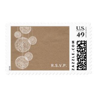 La cartulina de los globos de la guita inspiró sello