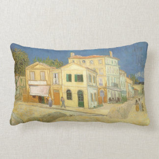 La casa amarilla de Vincent van Gogh Cojines