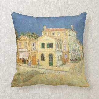 La casa amarilla de Vincent van Gogh Almohadas