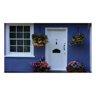 La casa azul, azafrán Walden, Essex, Reino Unido Tarjetas De Visita